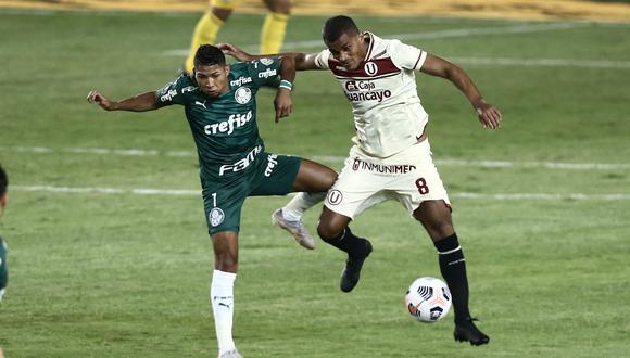 Palmeiras se llevó el triunfo del Monumental en los descuentos. (Foto:GEC)