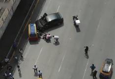 SJM: Apresan a 'Las Lacras de San Juan' que subían a buses de transporte público para asaltar a pasajeros