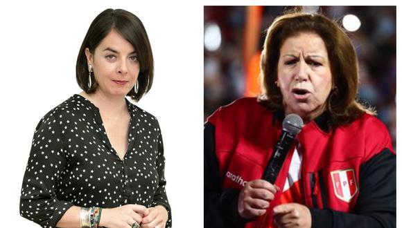 La periodista española troleó a la abogada y excandidata presidencial.