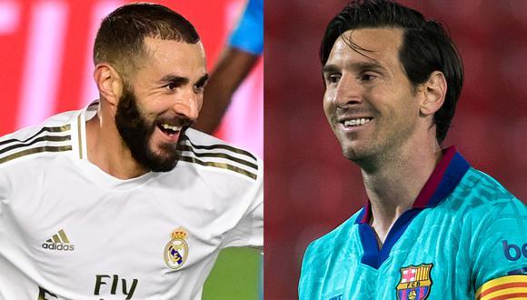 Real Madrid y Barcelona continúan con su lucha por alzar el título de la Liga de España. (Fotos: AFP)