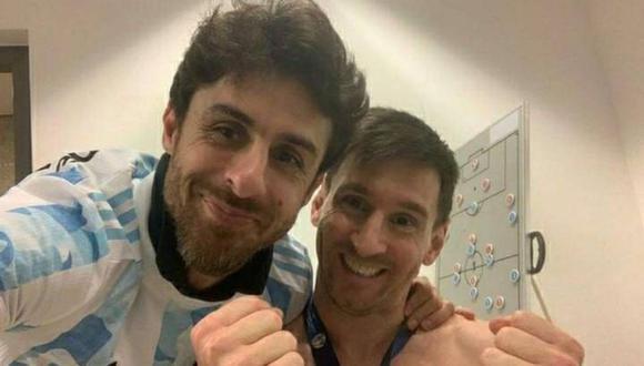 Messi y Aimar llegaron a jugar juntos en la selección hace más de 10 años.