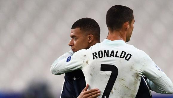 Kylian Mbappé no ha dejado de ser hincha de Cristiano Ronaldo.