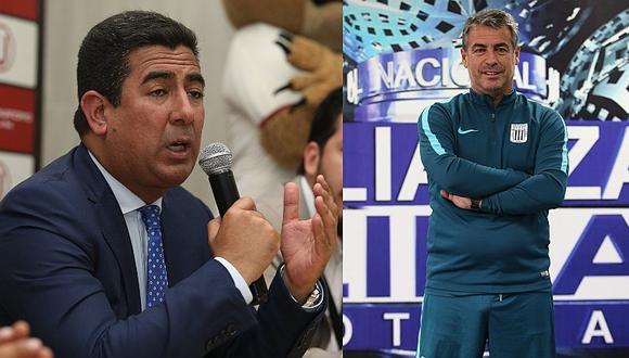 Alianza Lima: Universitario respondió ante posibilidad de contratar a Pablo Bengoechea