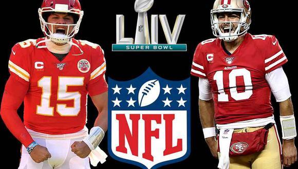 Kansas City Chiefs vs. San Francisco 49eres definirán al ganador del Super Bowl LIV. (Foto: Agencias)