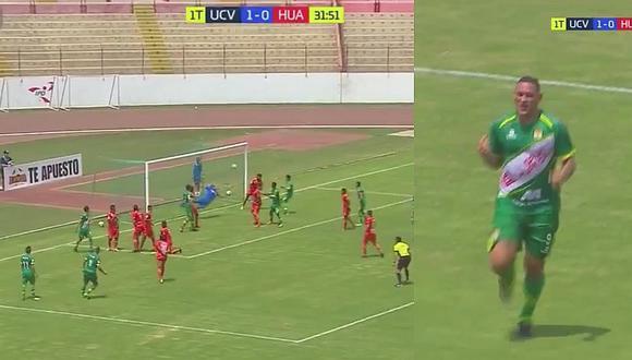 UCV vs Sport Huancayo: Carlos Neumann le marcó un golazo a Raúl Fernández
