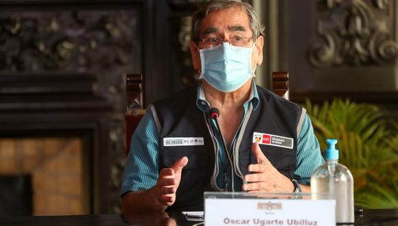 Óscar Ugarte habló de las negociaciones con Sinopharm para la llegada de más vacunas contra el COVID-19 . (Foto: PCM)