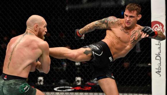 Conor McGregor insinúa un tercer enfrentamiento contra Dustin Poirier. (Foto: UFC)