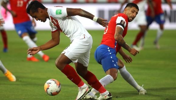 La selección de Chile ganó por 2-0 a Perú por la fecha 3 de las Eliminatorias a Qatar 2022.