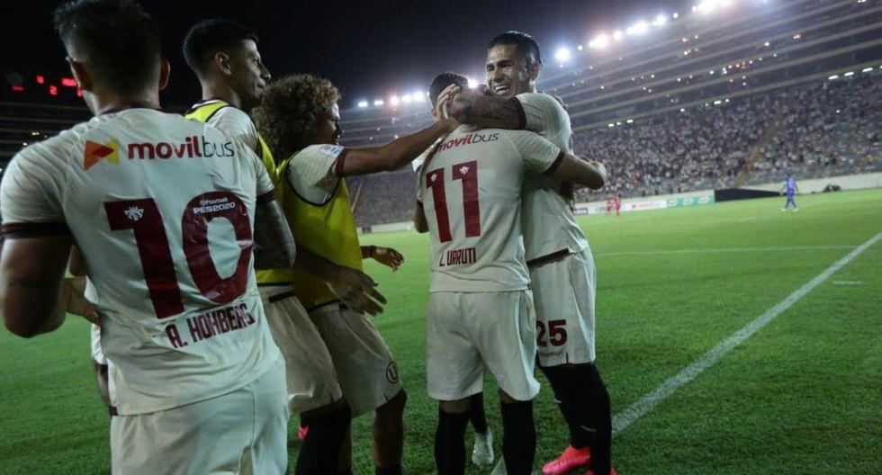 Universitario venció 2-1 a Sport Huancayo, consigue su segunda victoria consecutiva y es líder del Torneo Apertura 2020