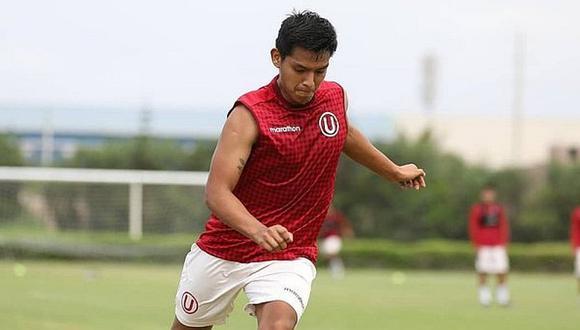 Nelson Cabanillas quedó disponible para debutar con Universitario