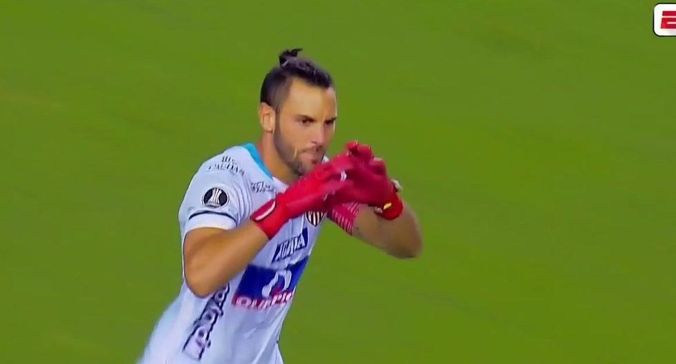 Barcelona SC vs. Junior: el tiro libre de Sebastián Viera para el 1-0 del equipo barranquillero | VIDEO