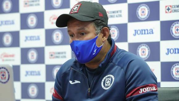 Juan Reynoso valoró la victoria de Cruz Azul contra Tigres en la Liga MX. (Foto: Cruz Azul)