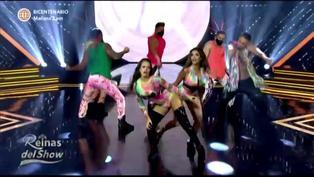 """Reinas del Show"": Shirley Arica y Jossmery Toledo bailaron reggaetón"