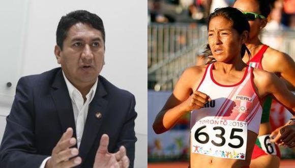 El fundador de Perú Libre, Vladimir Cerrón, se burló en Twitter del positivo por COVID de la atleta Inés Melchor.