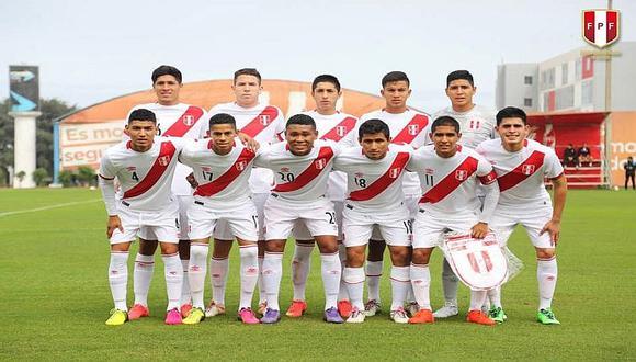 Selección Sub 20 afrontará duro cuadrangular en Arequipa