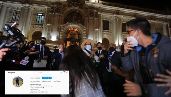 El congresista, Ricardo Burga fue agredido por Carlos Ezeta, joven que en las últimas horas se ha viralizado y por ello su cuenta de Instagram ha ganado miles de seguidores en tiempo récord
