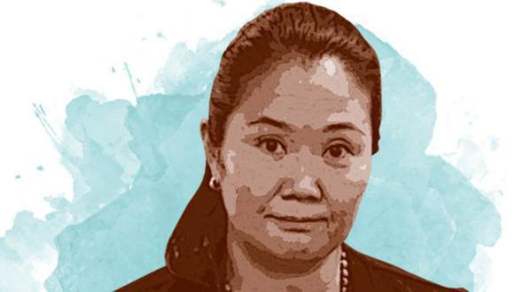 Keiko Fujimori. (Ilustración: GEC)