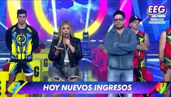 "Johanna San Miguel y Gian Piero Díaz le responden a productora de ""Guerreros México"". (Foto: Captura América TV)."