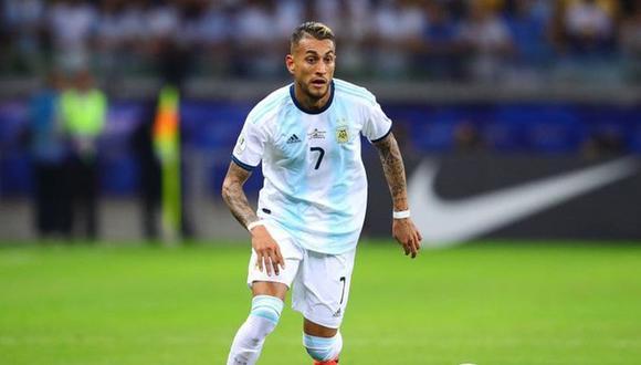 Roberto Pereyra no jugará ante Paraguay ni Perú por lesión. (Foto: Selección Argentina)