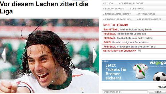 Pizarro es el héroe del Werder Bremen, destaca la prensa alemana