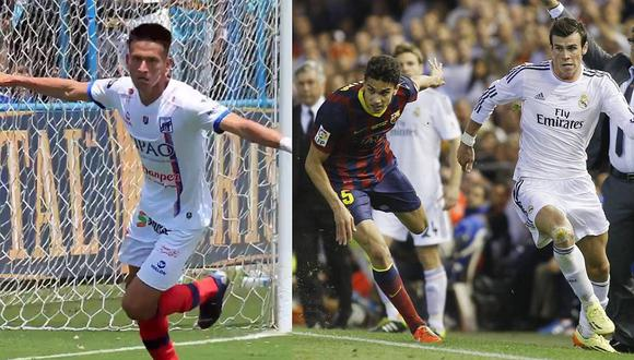 Sporting Cristal - Carlos A. Mannucci   Comparan gol de Relly Fernández con el de Gareth Bale a Barcelona [VIDEO]