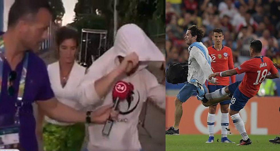Copa América 2019: hincha que se vistió de gallina disparó contra la selección de Chile y Gonzalo Jara | VIDEO