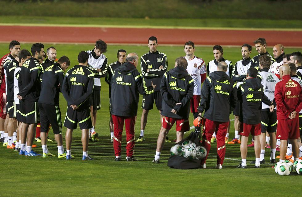 Selección española se prepara para amistosos ante Guinea y Sudáfrica [FOTOS]
