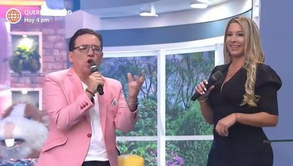 """Sofía Franco reapareció en TV como conductora de """"En boca de todos"""". (Foto: Captura de video)"""