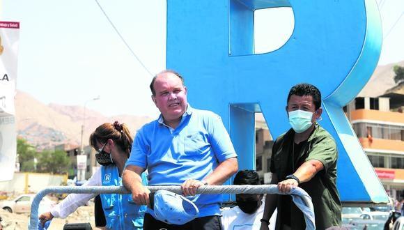 Rafael López Aliaga ahora insultó a la periodista Juliana Oxenford. (Foto: Britanie Arroyo / GEC)