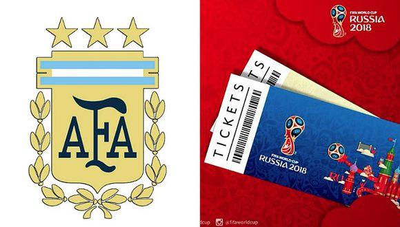 En Argentina denuncian que la AFA habría negociado las entradas del Mundial