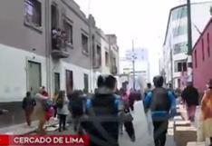 Cercado de Lima: retiran a ambulantes que tomaron espacios en los alrededores de Mesa Redonda   VIDEO