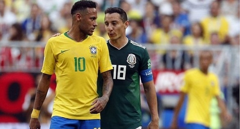 Guardado se burla de Brasil y Neymar tras eliminación de Rusia 2018
