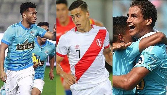 Sporting Cristal: cuatro candidatos a ser refuerzos para enfrentar a Zulia por Copa Sudamericana