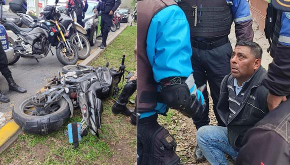 El detenido registra un amplio prontuario policial por delitos contra el patrimonio, robo, entre otros. Foto: Municipalidad de Magdalena.