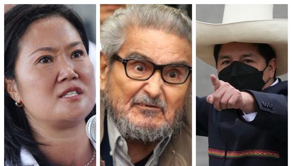 Keiko Fujimori volvió a enfilar sus baterías contra Pedro Castillo y compañía.