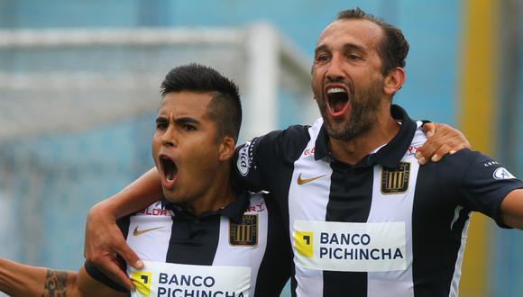 Hernán Barcos firmó por Alianza Lima a inicios del 2021. (Foto: Liga de Fútbol Profesional)