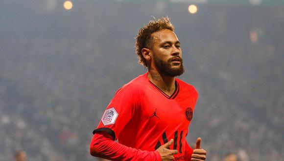 Neymar llegó al PSG procedente del Barcelona en la temporada 2017/18. (Getty)