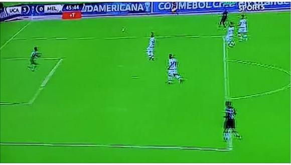 Universidad Católica (E) vs. Melgar: La gran atajada de Carlos Cáceda para evitar el cuarto gol | VIDEO