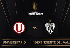 Universitario vs. Independiente del Valle en vivo: A qué hora y dónde ver el partido de Libertadores