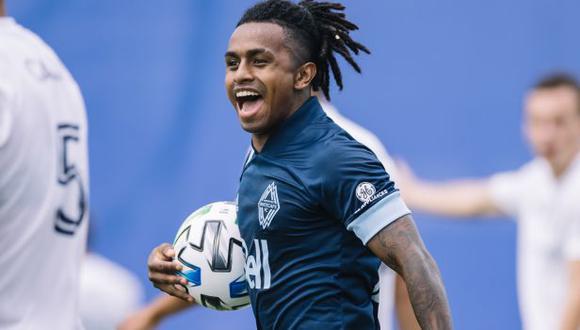 Yordy Reyna puso el 1-0 sobre Chicago Fire en la MLS is Back Tournament. (Foto: MLS)
