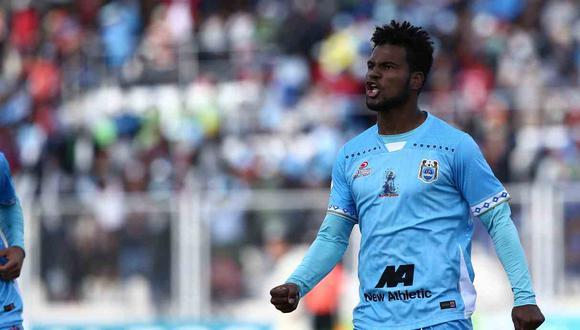 Aldair Rodríguez lleva seis goles esta temporada. (Foto: Binacional)