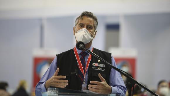 Presidente Francisco Sagasti anunció que el Perú firmó acuerdo para compra de vacunas Sputnik V (Foto: Archivo GEC)