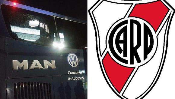 Cinco exRiver Plate son atacados a piedrazos en el bus en México [VIDEO]