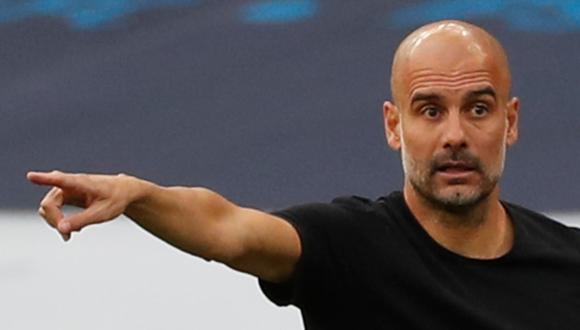 Pep Guardiola criticó al Arsenal por la postura adoptada frente a la sanción a Manchester City. (Foto: AFP)