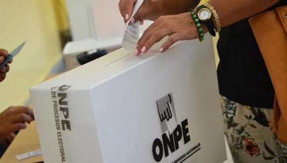 La ONPE ha habilitado una web para que las personas puedan escoger su local de votación para el próximo 11 de abril de 2021
