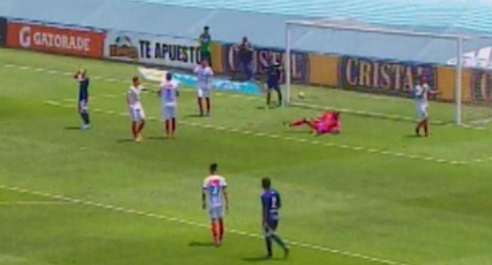 Sporting Cristal - Mannucci EN VIVO   Heredia y su felina atajada para negarle el triunfo a los celestes [VIDEO]