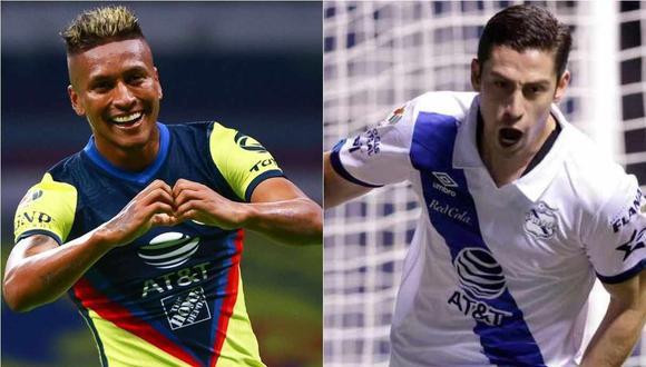 Pedro Aquino y Santiago Ormeño aparecen en la oncena ideal del Clausura 2021 elegida por los hinchas. (Foto: Liga MX)