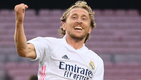 Luka Modric completará diez temporadas en Real Madrid en el 2022. (Foto: Real Madrid)