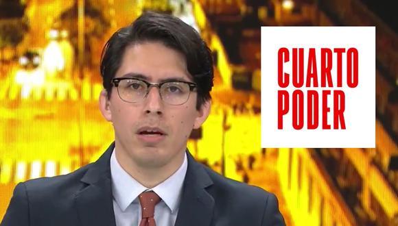 Sebastián Salazar sería el nuevo conductor de Cuarto Poder tras la ausencia de Mávila Huertas en el programa dominical.
