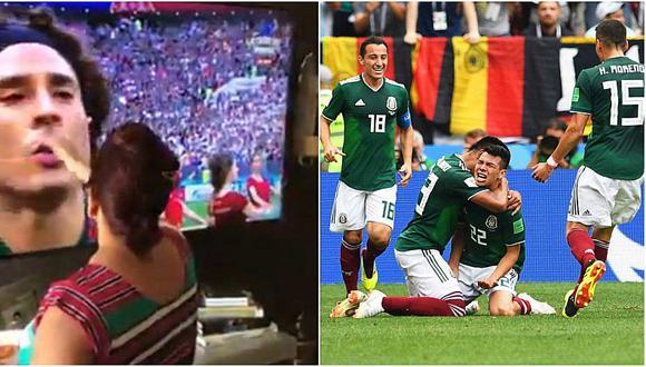 Hincha bendijo a selección mexicana para que ganara a Alemania [VIDEO]